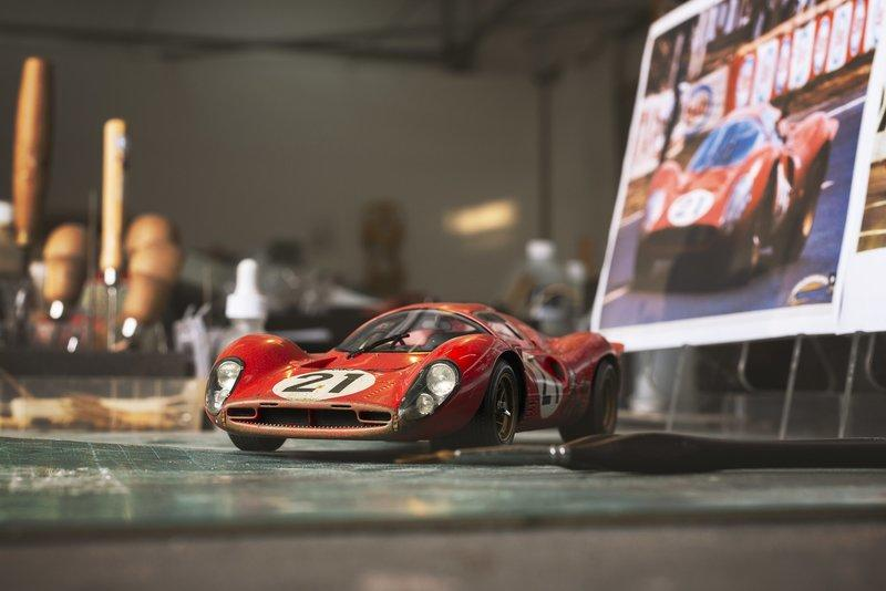 The Ferrari 330 P4 Le Mans Racer is Within Your Budget If Size Doesn't Matter