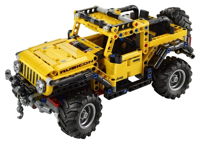 Forget Every Christmas Gift Idea You Have and Just Buy the Lego Jeep Wrangler Rubicon - image 957379