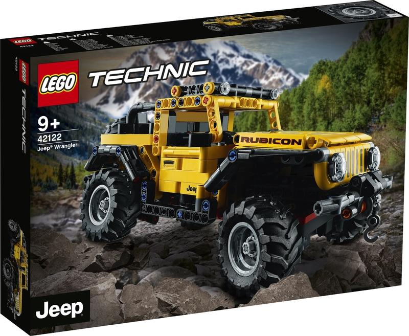 Forget Every Christmas Gift Idea You Have and Just Buy the Lego Jeep Wrangler Rubicon