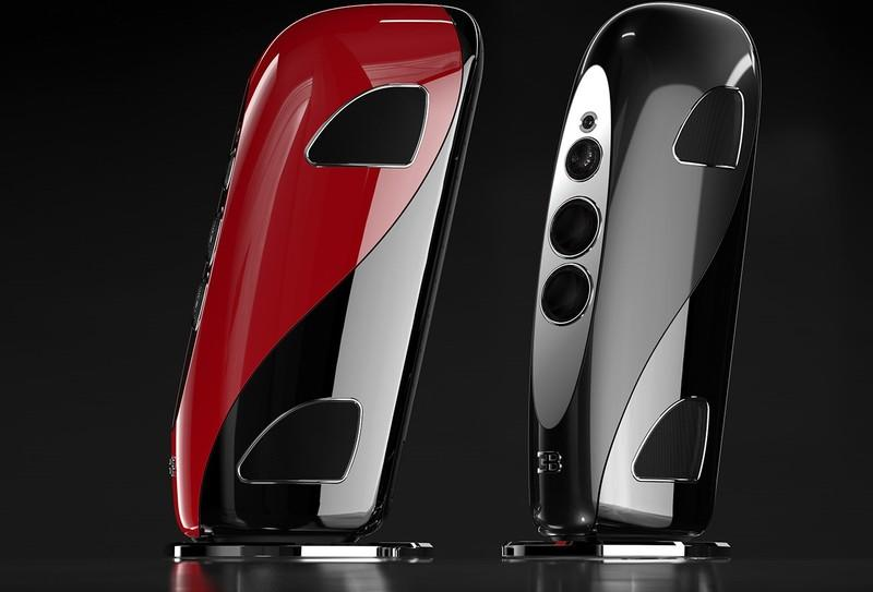These Bugatti-Branded Speakers Redefine What High-End Audio Systems Can Be