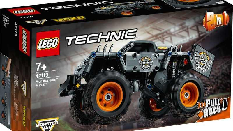 Lego Kicks Off 2021 Right With the Grave Digger and Max-D Monster Truck Technic Kits