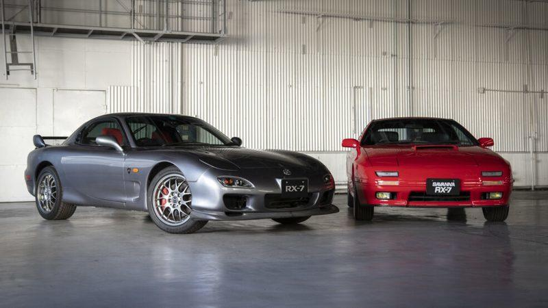 Mazda Now Has a Heritage Parts Program for the FC and FD-gen RX-7!!!