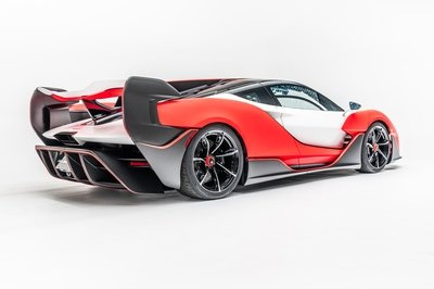 The Sabre Is The Most Powerful Non-Hybrid Supercar McLaren Has Ever Built