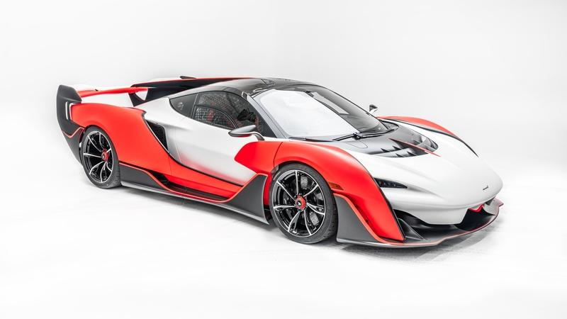 The Sabre Is The Most Powerful Non-Hybrid Supercar McLaren Has Ever Built Exterior - image 960593