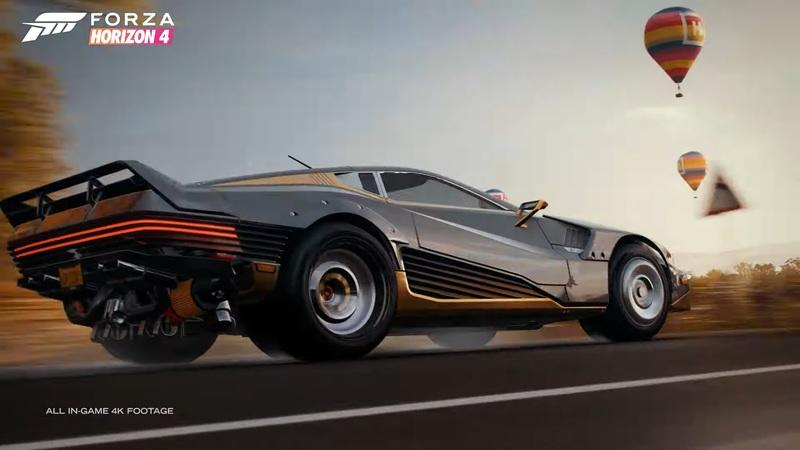 One of Cyberpunk 2077's Most Exotic Rides Is Now Available in Forza Horizon 4 - image 959465