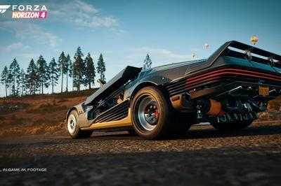 One of Cyberpunk 2077's Most Exotic Rides Is Now Available in Forza Horizon 4