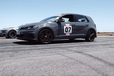 RTR Ford Mustang Spitfire vs. The Volkswagen Golf GTI TCR DSG