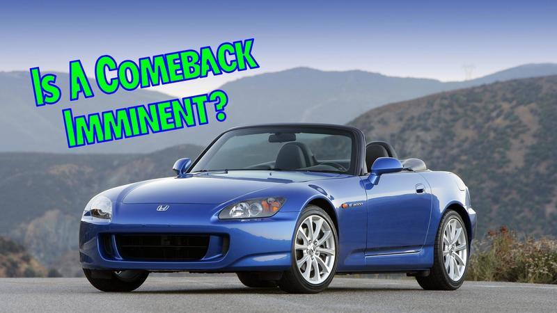Rumor Has It That the Honda S2000 Is Coming Back