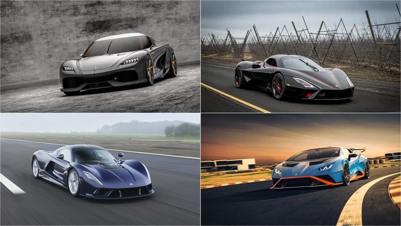 The Best Supercars of 2020
