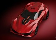 The Ferrari 812 Superfast Needs a Successor And This CascoRosso Rendering Is It - image 959381