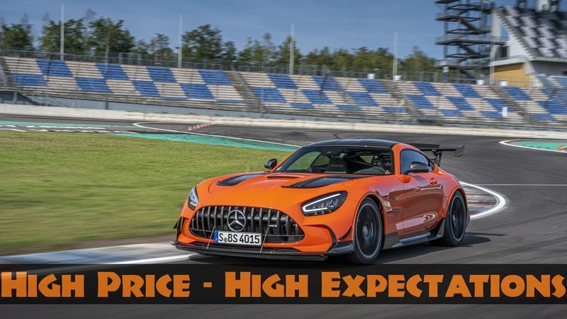 The Mercedes-AMG GT Black Series Cost More Than A Ferrari F8 or McLaren 720S