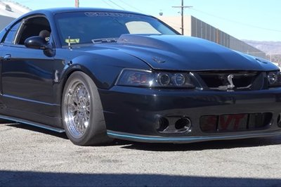 This Supercharged Terminator Ford Mustang Is Not For the Faint Hearted