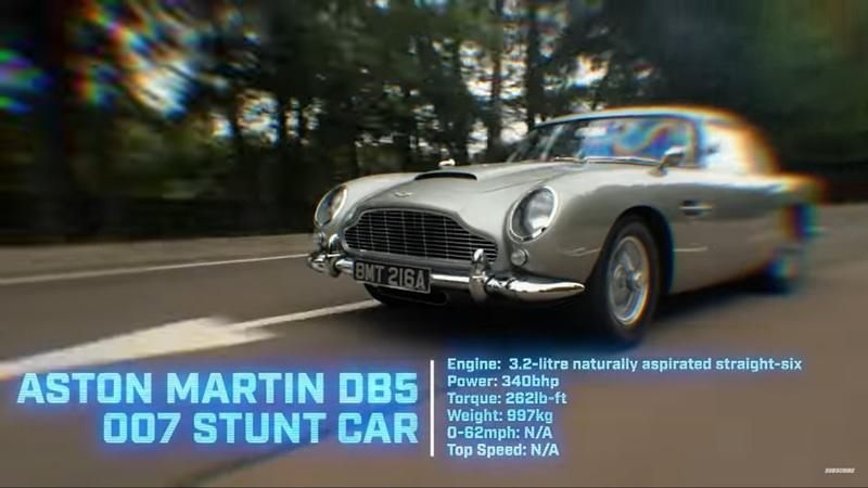 This Video Of The STIG Drift James Bond's Aston Martin DB5 Is The Best Thing You'll See This Year