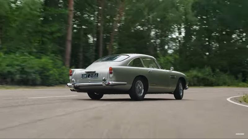 This Video Of The STIG Drift James Bond's Aston Martin DB5 Is The Best Thing You'll See This Year - image 961457