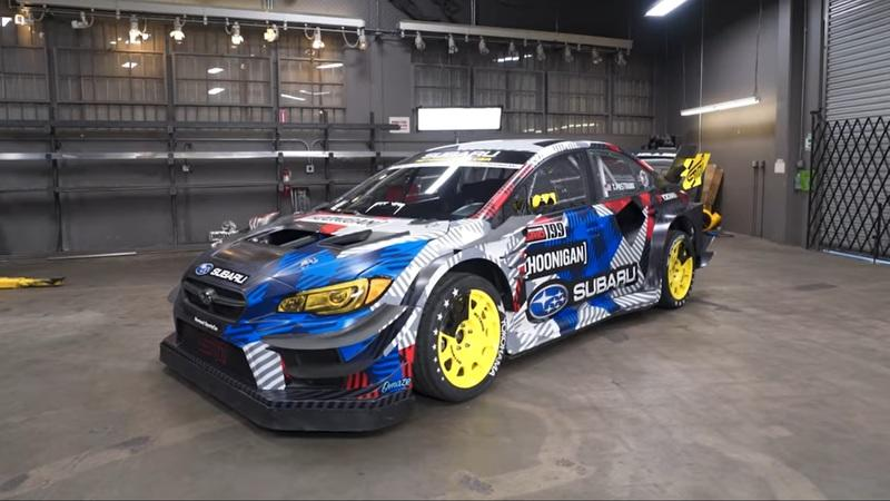 Travis Pastrana's 862HP Subaru WRX STI Gymkhana Car Is Out of this World