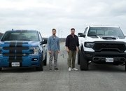 Watch The 2021 Ram 1500 TRX Take On The Shelby F-150 Super Snake Sport - image 960442