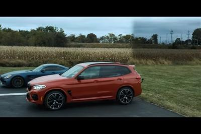 Why Can't This Tuned, 700HP BMW X3 M Give The Business to a Mercedes-AMG GT R?