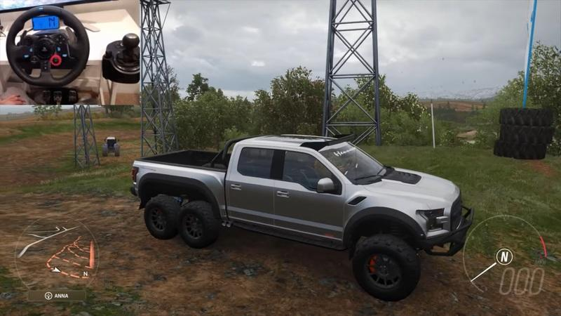 You Must Drive the Hennessey Velociraptor 6x6 in Forza Horizon 4 - image 958884
