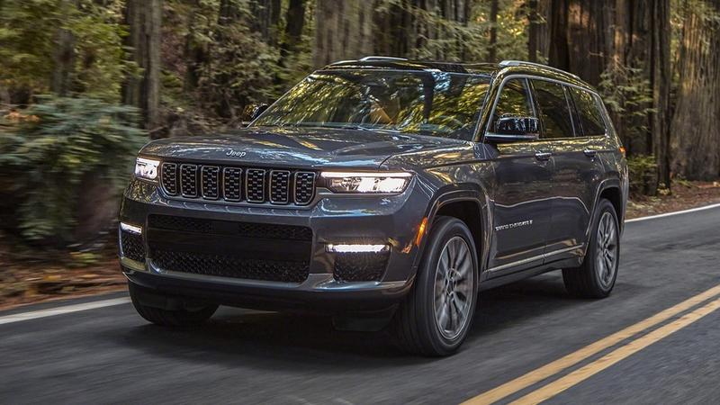 2021 Jeep Grand Cherokee L - Bigger Than Ever With Impressive Tech