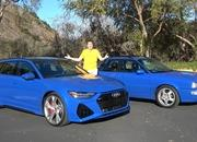 Check Out How The 2021 Audi RS6 Avant Compares to the 1994 Audi RS2 - image 962386