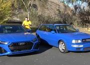 Check Out How The 2021 Audi RS6 Avant Compares to the 1994 Audi RS2 - image 962387