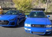 Check Out How The 2021 Audi RS6 Avant Compares to the 1994 Audi RS2 - image 962392