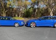 Check Out How The 2021 Audi RS6 Avant Compares to the 1994 Audi RS2 - image 962393