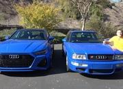 Check Out How The 2021 Audi RS6 Avant Compares to the 1994 Audi RS2 - image 962384