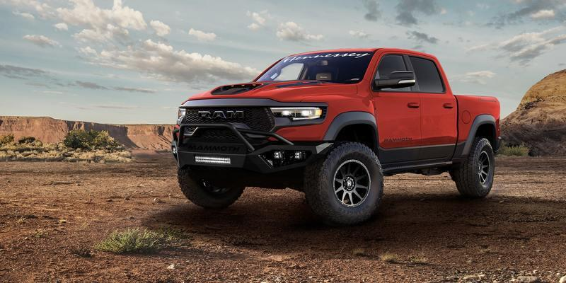 Hennessey Introduces a 1,000-Horsepower Ram 1500 TRX That Takes Just 3.2 Seconds to 60 MPH