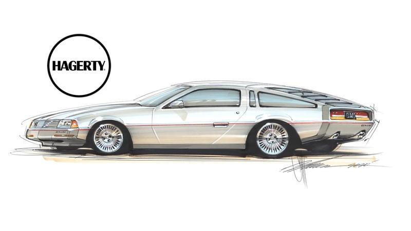 Here's What a Modern DeLorean DMC-12 Could Look Like