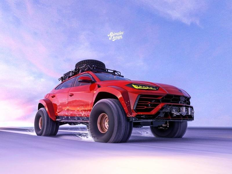 If Lamborghini Really Wants People to Off-Road The Urus, It Should Look Like This