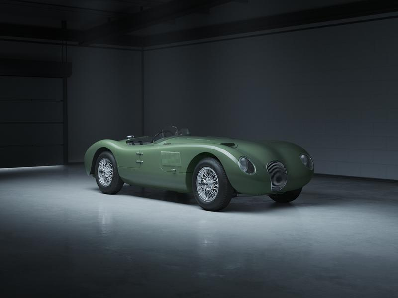 Jaguar Brings The Iconic C-Type Back To Life With A Continuation Series