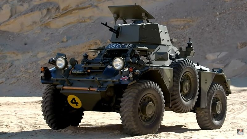 Jay Leno Says The 1959 Ferret Armoured Scout Drives Like a Car