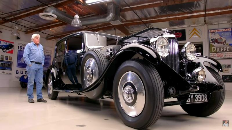 Let Jay Jeno Tell You About This 1931 Bentley 8-Litre Mulliner Sedan