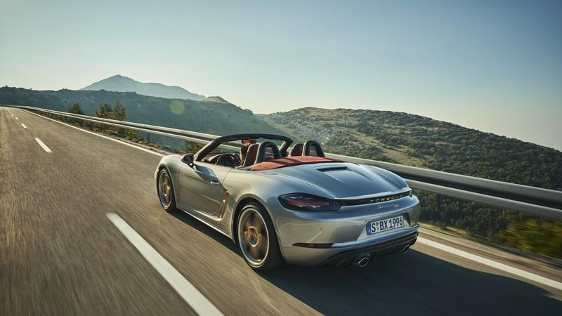 2021 Porsche Boxster 25 Years Exterior Wallpaper quality - image 964118