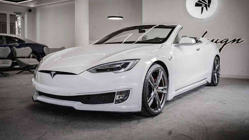 2021 Tesla Model S Convertible By Ares Design