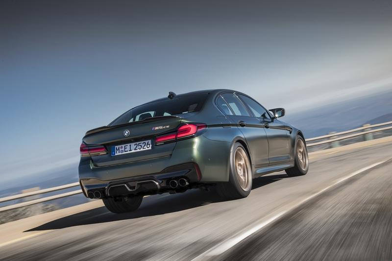 The BMW M5 CS Is Enriched With Carbon Fiber And It's As Fast As a Supercar