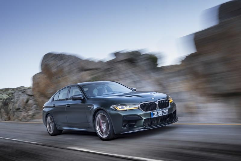 The BMW M5 CS Has The Best Weight-to-Power Ratio Of Any M Car On The Planet