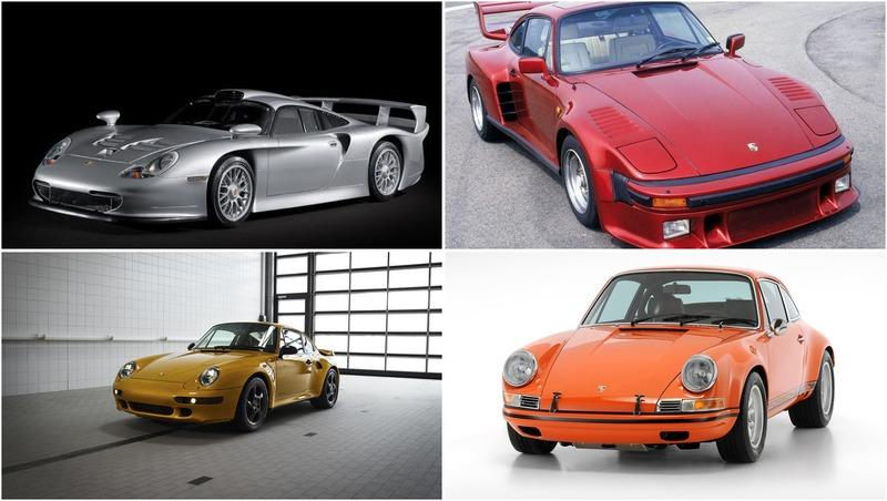 The Rarest Porsches Ever Made