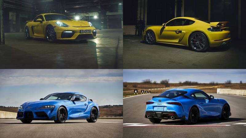 The Toyota GR Supra Can Hold Its Own Against The Porsche 718 Cayman GT4