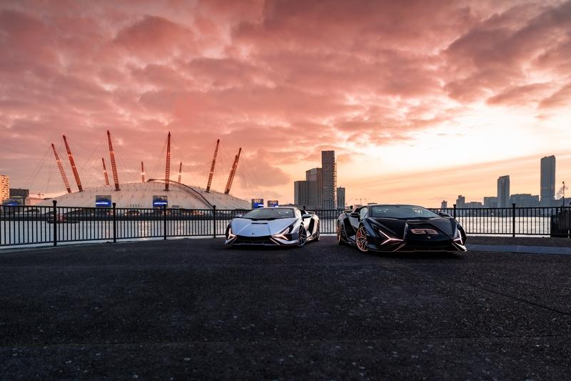 These U.K.-Delivered Lamborghini Sians Are Downright Gorgeous