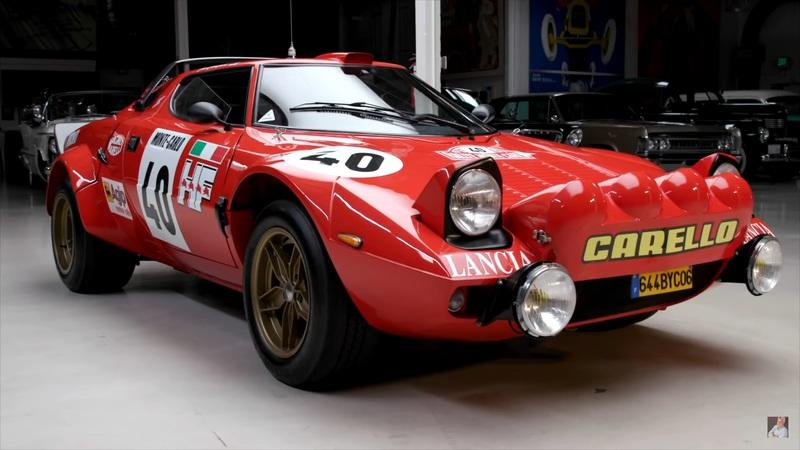 This 1975 Lancia Stratos HF Was Super Cool in Jay Leno's Garage