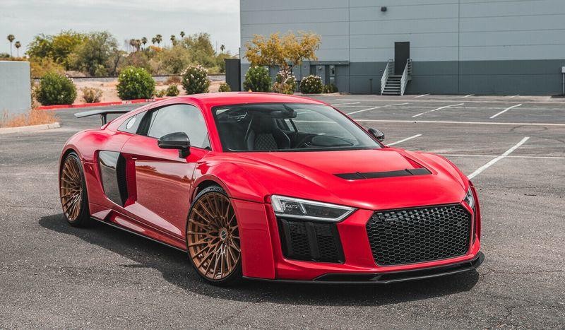 This 2017 Audi R8 Widebody Has $100,000 In Upgrades, Low Mileage, And It Could Be Yours