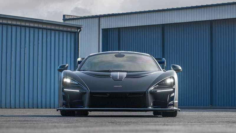 This McLaren Senna With $360K In Options Is Heading to Auction