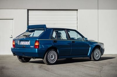This Rare 1995 Lancia Delta HF Integrale Evoluzione II Could Be Yours