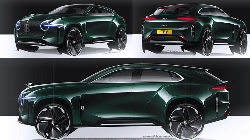 This Rendering of the Bentley EXP8 Exposes What The Bentayga Should Have Been