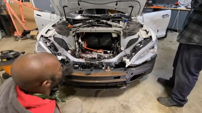 This V-8 Tesla Swap Came Together Quite Nicely