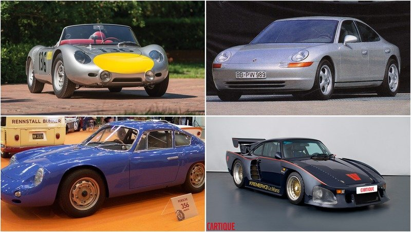 Top 10 Porsche cars you never knew existed