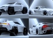 You Have To See This Ridiculous Looking Toyota Supra Concept Rendering - image 961773
