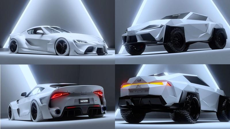 You Have To See This Ridiculous Looking Toyota Supra Concept Rendering